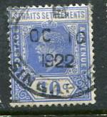 Straits Settlements #190 Used