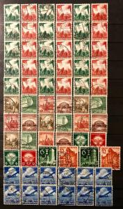 German Empire: Used Sets/Issues Third Reich