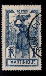 Martinique Scott 94 stamp Used