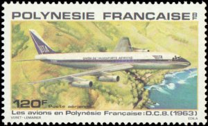 French Polynesia #C172-C176, Complete Set(6), 1979, Airplanes, Never Hinged