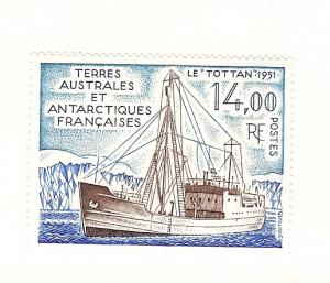 French Southern Antarctic Terr. 171, Ship Single, MNH