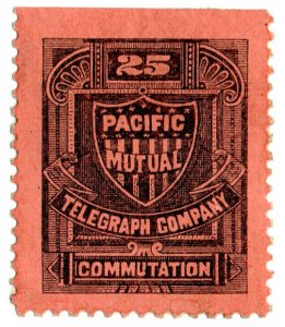 (I.B) USA Telegraphs : Pacific Mutual 25c