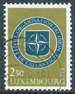 Luxembourg, Sc #349, 2.50fr Used