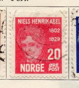 Norway 1929 Early Issue Fine Used 20ore. 130778