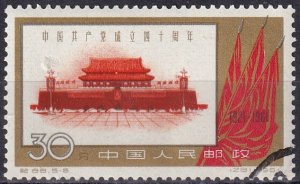 China #573   F-VF Used CV $26.00 (Z1608)
