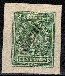 Paraguay #O4 F-VF Unused  CV $7.00 (X241)