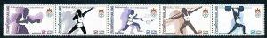 Thailand 1985,13th SEA Games, Bangkok MNH strip # 1120