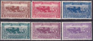 Egypt #108-13 Unused  CV $77.75 (Z3264)