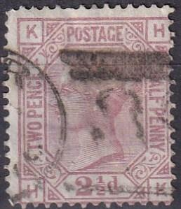 Great Britain #67 Plate 4 Used  CV $60.00 (A19484)