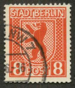 German Democratic Republic 11NB Used VF