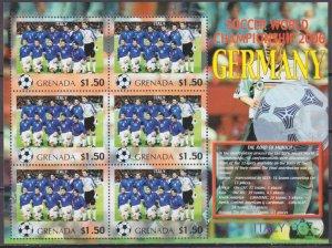 2006 Grenada 5722KL 2006 FIFA World Cup Germany( Italy ) 9,00 €
