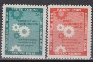 UN #65-6 MNH VF (ST168)