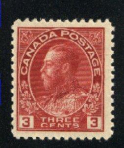Canada 109   Mint NH F 1911-25   PD