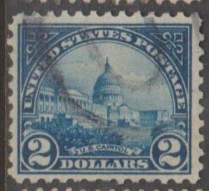 U.S. Scott #572 U.S. Capitol, Washington DC Stamp - Used Single