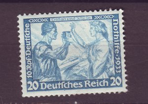 J25108 JLstamps 1933 nazi germany hv of set mh #b55a wmk swastikas $135.00 scv