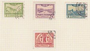 POLAND 1918 PRZEDBORZ local post set used...................................A615