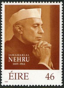 IRELAND Sc# # 753 1989 Jawaharlal Nehru  MNH