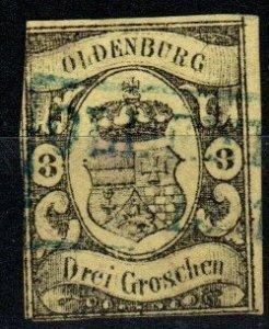Oldenburg #8  F-VF Used  CV $600.00 (X1264)
