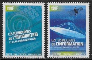 French Polynesia Scott #'s 880 - 881 MNH