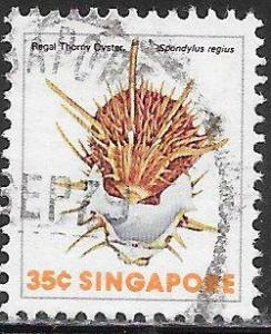 Singapore 269 Used - Sea Shells - Regal Thorny Oyster