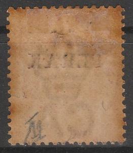 MALAYA 1886 Perak opt Straits QV 2c SG#19 T.16 MLH M1284 See images