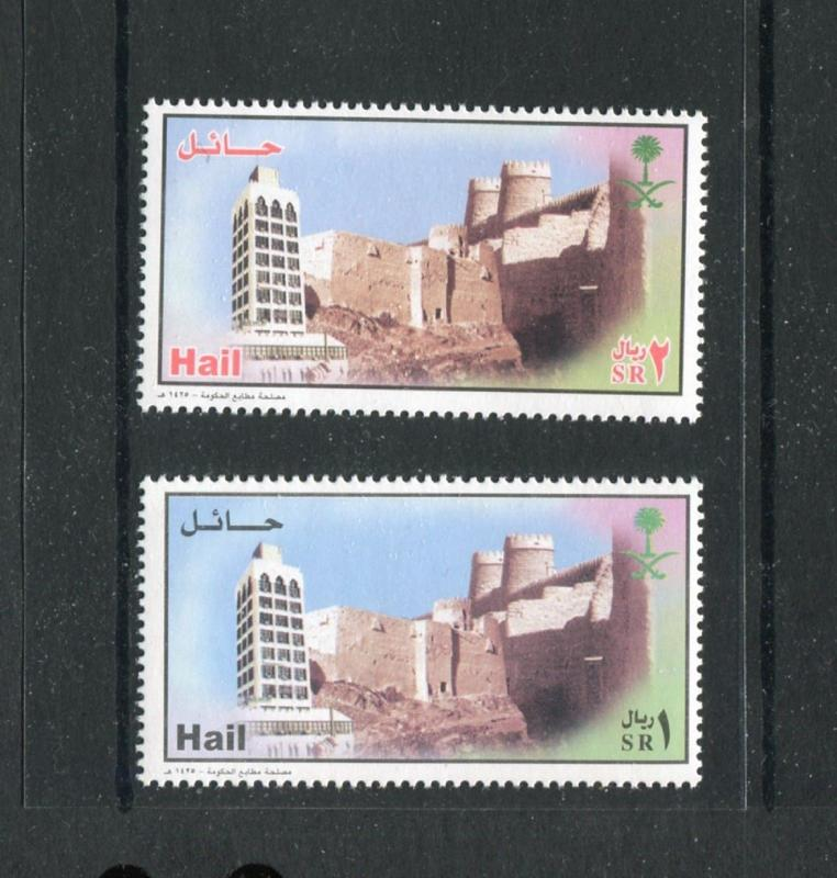Saudi Arabia 1350-1351, MNH, 2004, City of Hail 2v. x27334