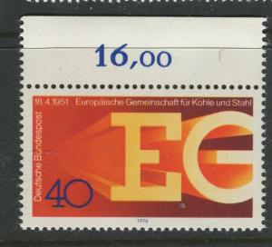 Germany -Scott 1209 - General Issue-1976 - MNH - Single 40pf Stamp