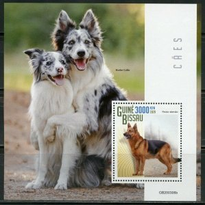 GUINEA BISSAU 2020 DOGS SOUVENIR SHEET MINT NH