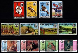 Swaziland 1970s Commonweath Games, Tourism, Year of Child, Sets [Unused]