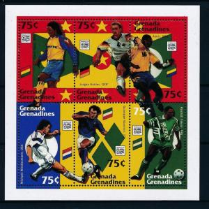 [59547] Grenada Grenadines 1994 World Cup Soccer Football USA MNH Sheet