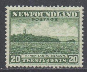 Canada Newfoundland Scott 196 - SG218, 1932 George V 20c MH*