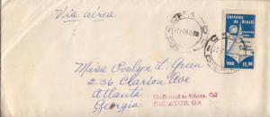 Brazil 11.00Cr International Volleyball Championships 1961 CFATO, DF Airmail ...