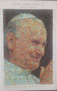 O) SIERRA LEONE, POPE JOHN PAUL II, PHOTOMOSAIC - COLLAGE, MNH