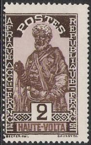 Upper Volta #44 Hausa Chief MNH