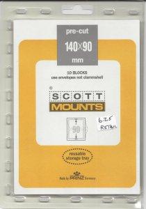 SCOTT MOUNT 918B, 140 MM X 90 MM, NEW/UNOPENED, RETAIL $6.25
