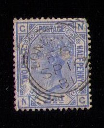 SG 157 Great Britain (PL 22) Used F-VF