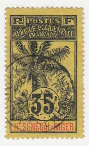 Upper Senegal & Niger - 1906 - SC 10 - Used - CDS