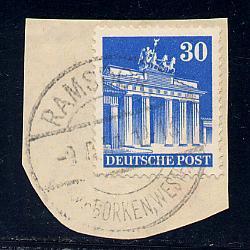Germany Deutsche Post Scott # 649a, used, variation
