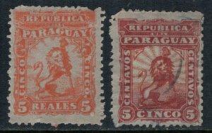 Paraguay 10,2*/u  CV $3.50