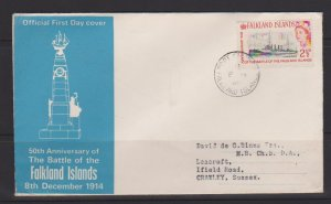 Falkland Islands Sc#150 First Day Cover