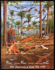 Palau 369 Winged Dinosaurs MNH VF