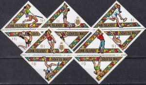 Cook Islands #254-8 MNH CV $6.60 (Z5425)