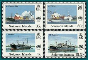 Solomon Islands 1988 Australia Bicentenary, Sydpex, MNH #618-621,SG626-SG629