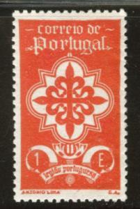 Portugal Scott 585 MH* 1e Legion stamp 1940 CV $57.50