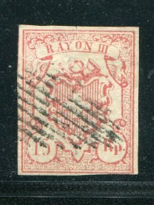 Switzerland #12  Used F-VF    - Lakeshore Philatelics