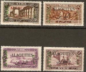 Alaouites C5-8 Mint Complete VF 1925 SCV $32.00