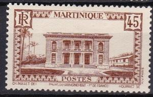 1940 Martinique Scott 147 Government Palace mh