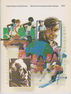 USA -1979 SOUVENIR MINT SET-MINI ALBUM. LOT#US267