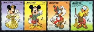Lesotho - 1992 Granada 92 Set & MS MNH** SG 1089-1093