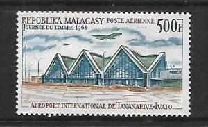MALAGASY REPUBLIC, C89, MNH, AIRPORT